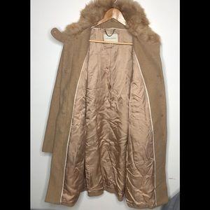 Banana republic pea coat wool jacket size medium